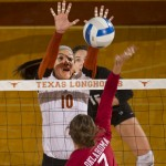 Three Texas Volleyball Players Earn All-America Accolades