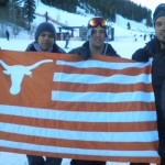 Diehard UT Fans Hit the Slopes