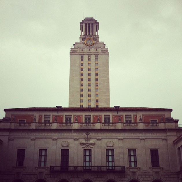 UT Tower Turns 75