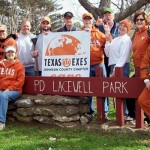 Johnson County Chapter Plants Orange & White Flowers