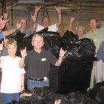 Longhorn Village Chapter Donates Clothes