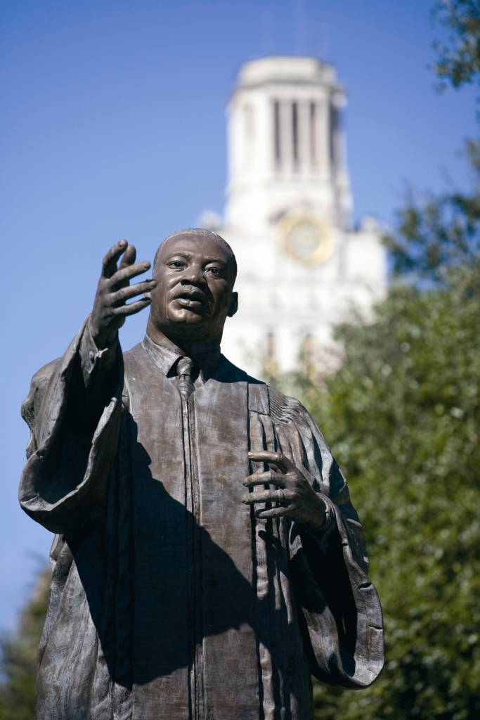 How the MLK Statue Came to the East Mall | The Alcalde
