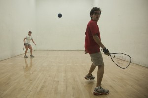 Racquetball at Gregory Gym