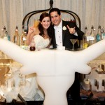 Longhorn Wedding Is Cool as Ice