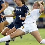 Injured UT Soccer Player Receives Bev Kearney Texas Tough Award