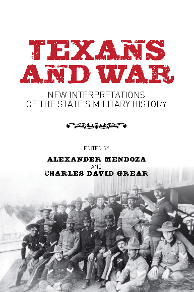 Texans and War Book cover