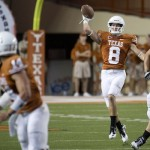 Longhorns Hit the Field for First Football Practice