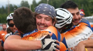 Alaska Alumni, Texas 4000 Riders Celebrate in Anchorage