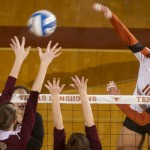 Texas Volleyball Sweeps Big 12 Coaches Poll