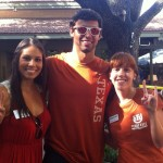 Longhorn Olympian Ricky Berens Swings By Texas Exes Tailgate
