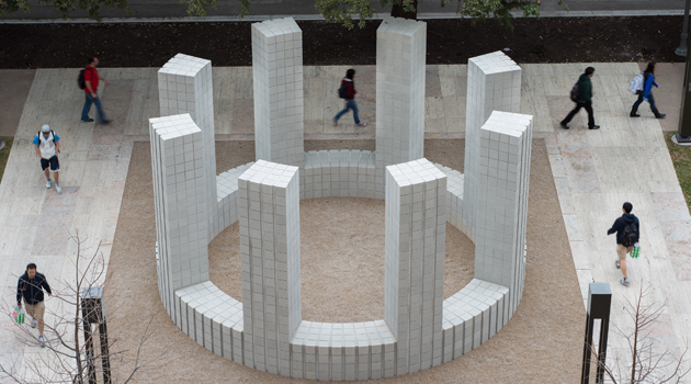 Sol LeWitt Artwork Unveiled at UT's New Computer Science Building