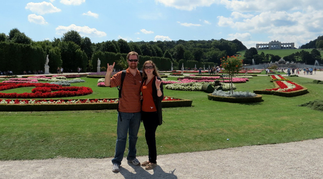 Gardens at Schonbrunn Castle