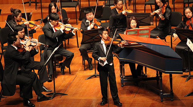 "UT's Butler School to Host the ""Olympics of Violin"""