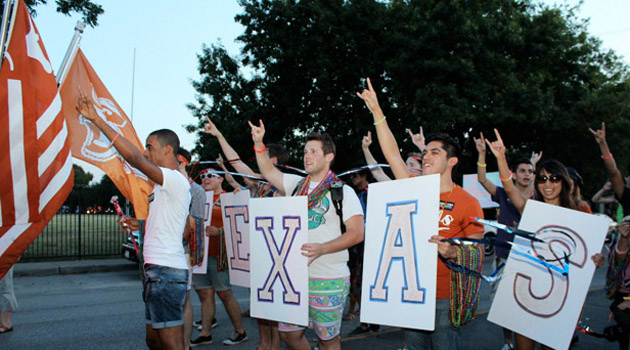 LGBT Longhorns Celebrate at Houston Pride