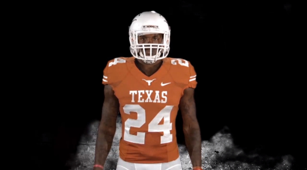 2013 Longhorn Football Uniforms Revealed [Watch]