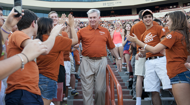 The Big Yell: 5 UT Traditions Freshmen Should Know