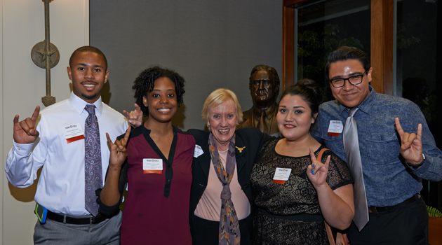Texas Exes Awards $2.53 Million to 684 Students at Scholarship Dinners
