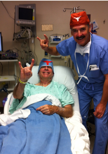 Horns Up In The Pre Op Room The Alcalde