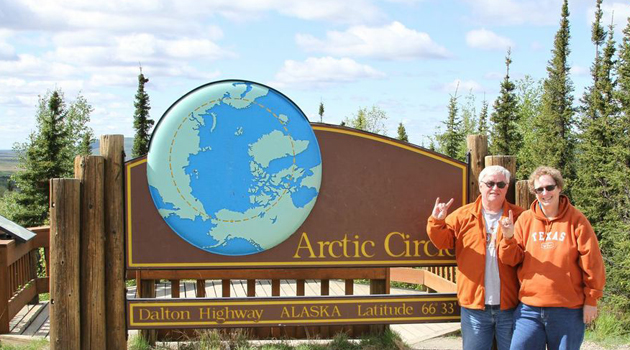 Steve_Penny at the Arctic Circle