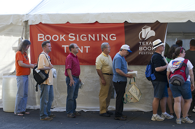 Longhorns to Watch at the Texas Book Festival