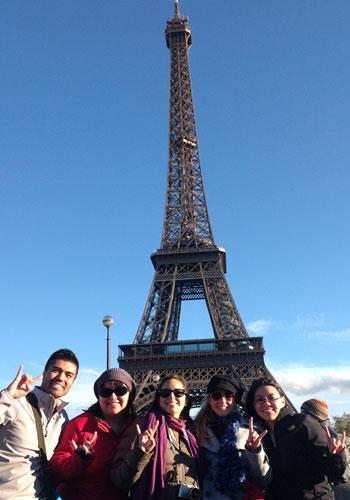 Longhorns in Paris