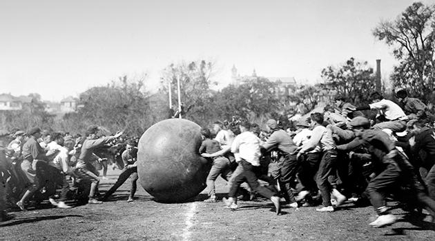 The Way Back: Pushball
