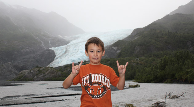 Future Longhorn in Alaska