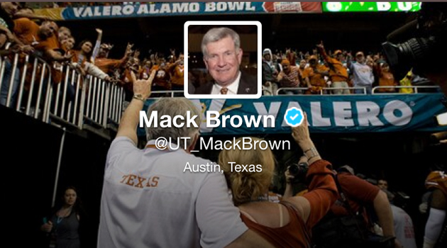 Mack is Back... On Twitter
