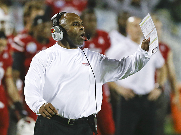 Charlie Strong Named Texas' Next Head Football Coach