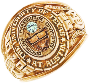 university of texas class ring | The Alcalde