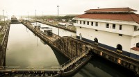 Flying Longhorns Tour the Panama Canal