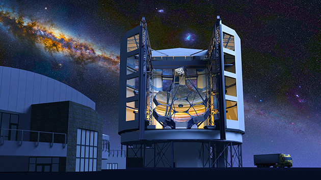 UT Chips in for World's Largest Telescope