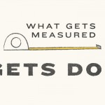 What Gets Measured Gets Done