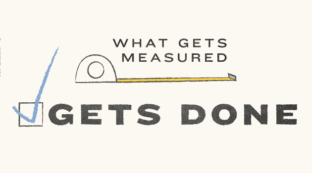 Image result for what gets measured gets done