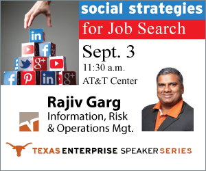 Texas Enterprise Speaker Series
