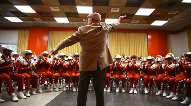 Goodbye, Mr. D: Longhorn Band Legend Vince DiNino Dies at 95