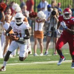 Longhorns Shut Down Jayhawks in Lawrence, 23-0