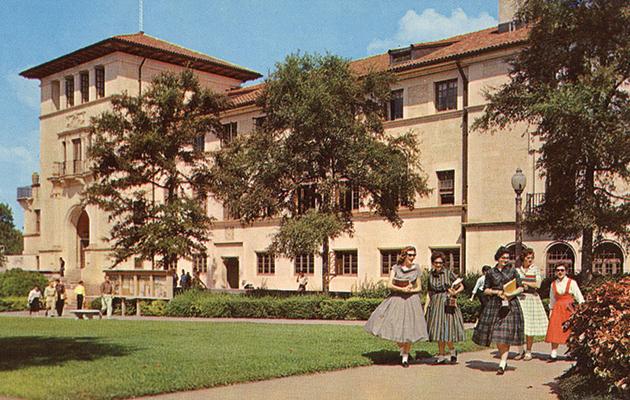 A Student Union 5 girls w many pettycoats