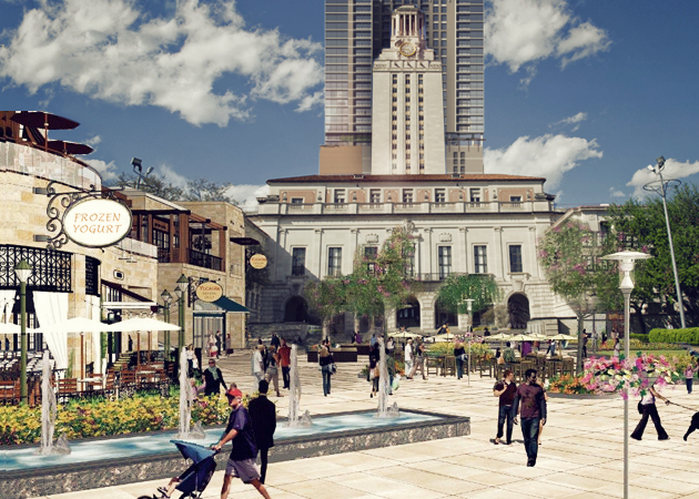 Mixed-Use Plan Approved for UT Tower