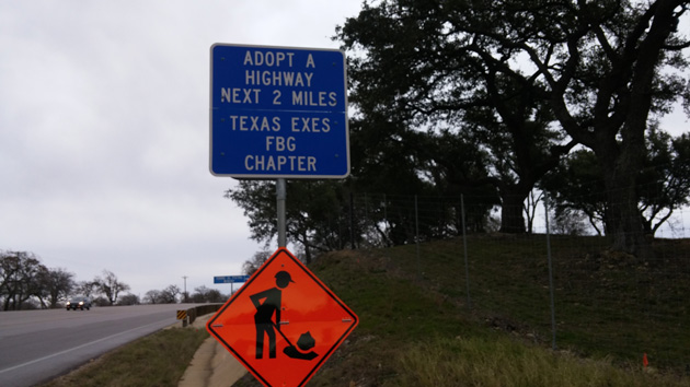 Fredericksburg Longhorns: Don't Mess with Texas Highways