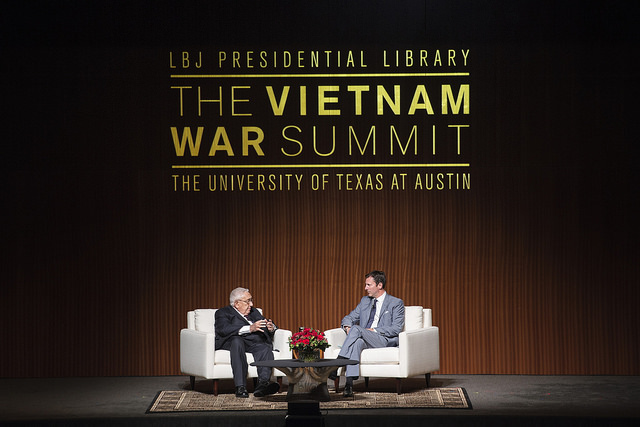 Henry Kissinger Talks Nixon Administration at Vietnam War Summit