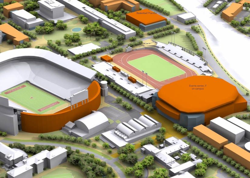 UT Athletics Unveils Possible Erwin Center Replacement