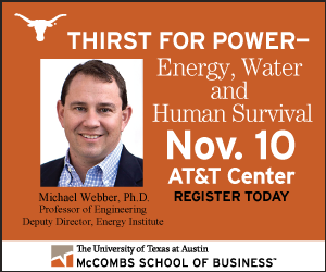 UT, McCombs School of Business, Thirst for Power
