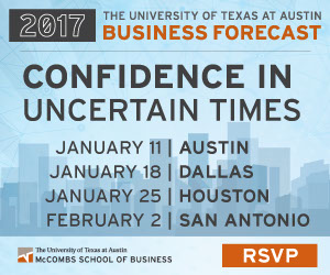 confidence in uncertain times, UT mccombs school of business