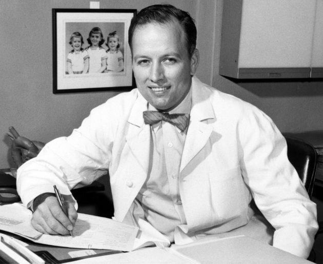 Denton A. Cooley in 1957