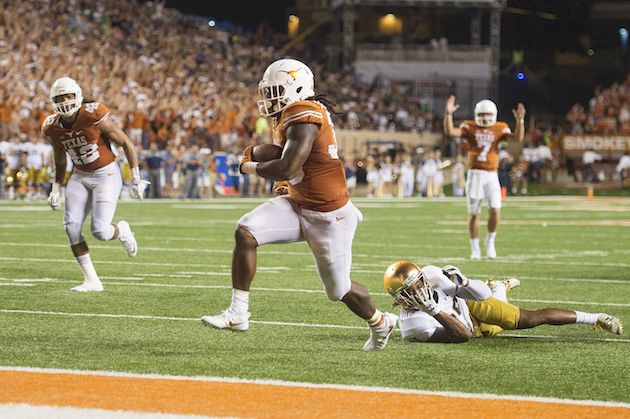 D'Onta's done: Texas' 2000-yard rusher heading to NFL
