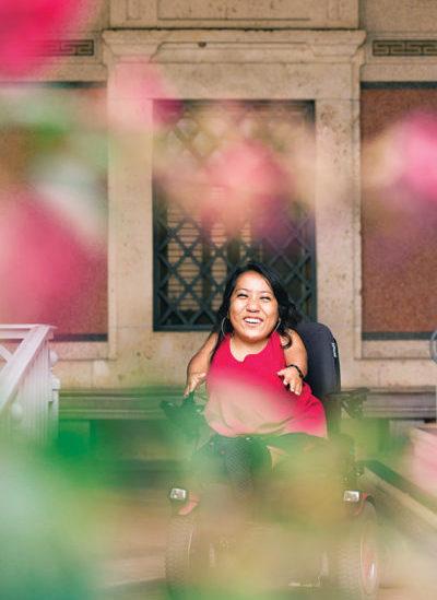 Meet Alejandrina Guzman, UT's First Latina Student Body President | The Alcalde  Meet Alejandrin...