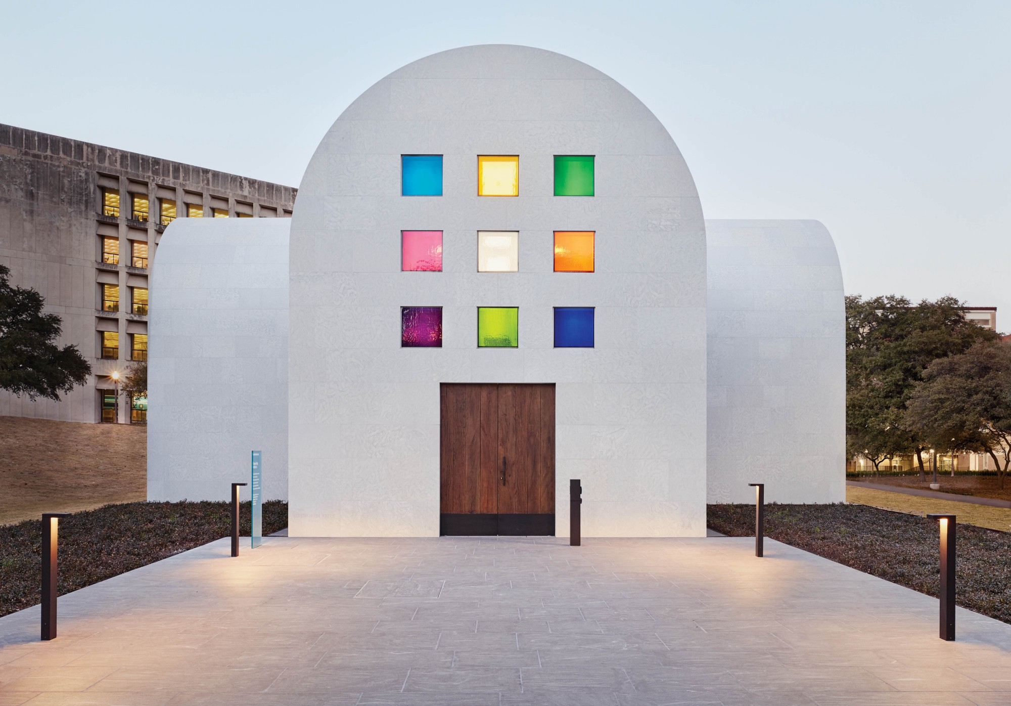 Sacred Space: Look Inside Ellsworth Kelly's Last Work at the Blanton Museum