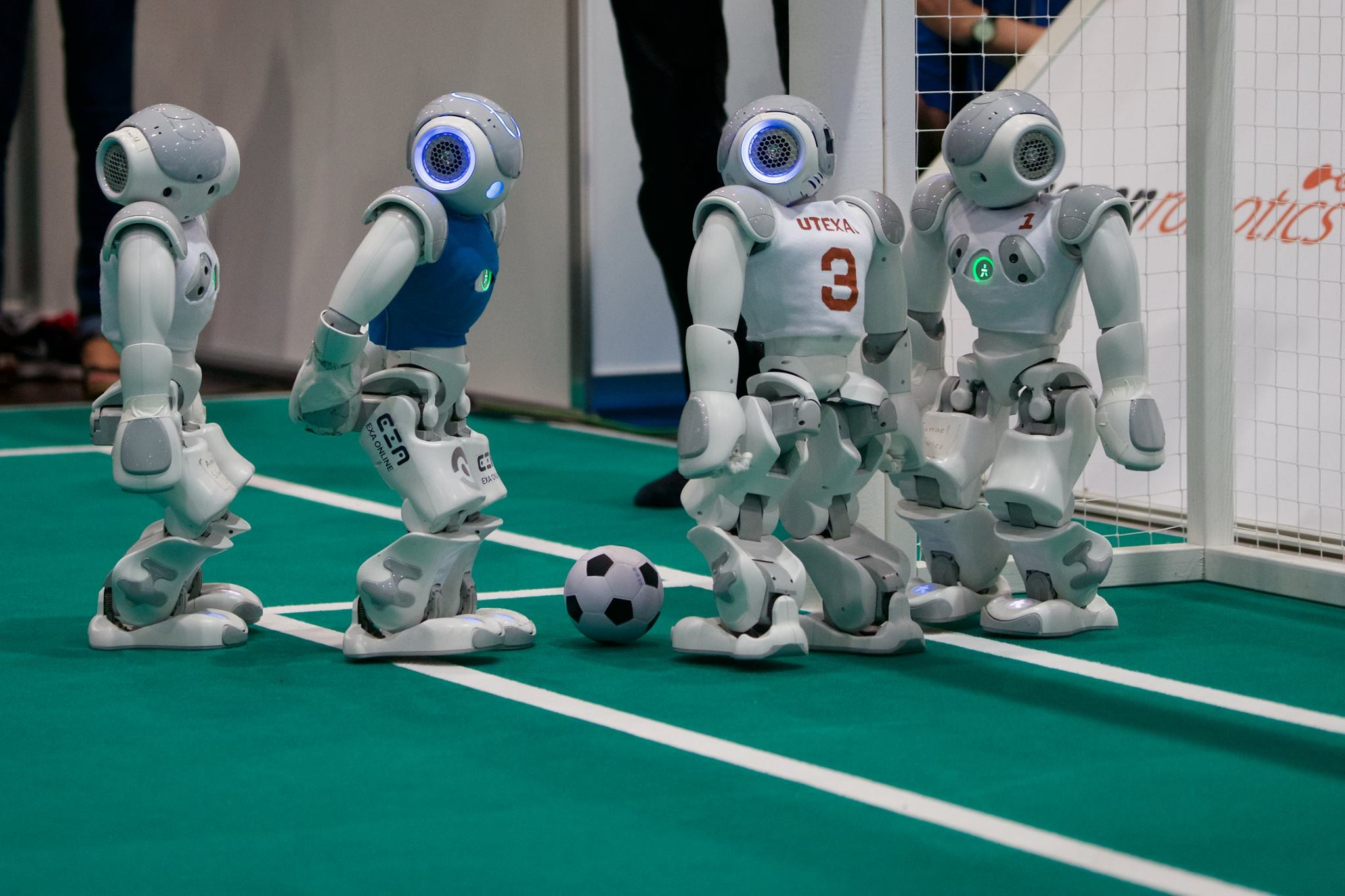 Could Robots Compete in the 2050 World Cup? This UT Team Thinks It's Possible
