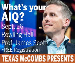 McCombs School of Business-James Scott